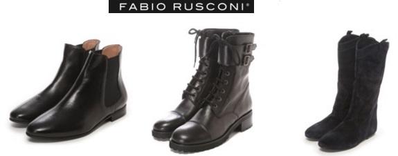 ファビオルスコーニの新作ブーツ紹介