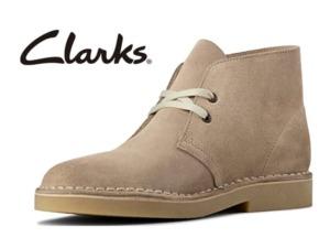 クラークスのデザートブーツのサイズ感