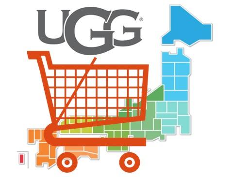 uggの店舗情報